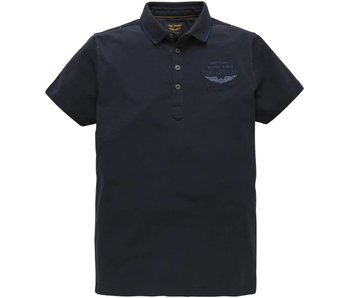 PME Legend Short sleeve polo Barex Dark Navy PPSS182870