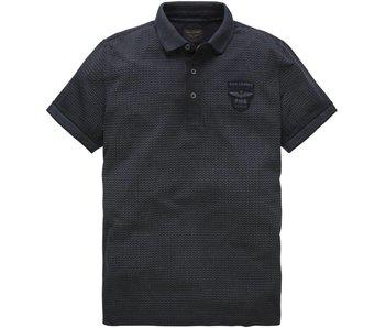 PME Legend Short sleeve polo Single Jersey Dark Navy PPSS182872
