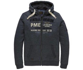 PME Legend Hooded jacket Brushed Falcon Dark Navy PSW182410
