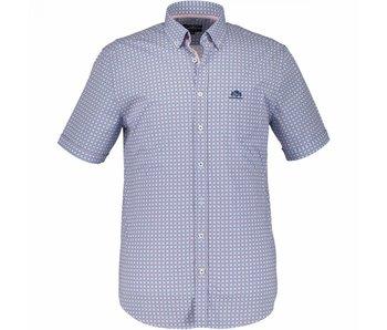 State of Art Shirt korte mouw blauw 264-18542-5746