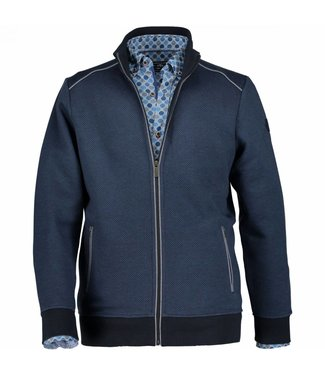 State of Art Sweatvest blauw 561-18496-5857