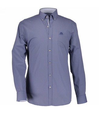 State of Art Shirt l-mouw blauw 214-18150-4757