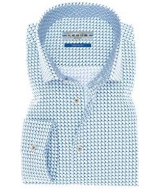 Ledub Shirt blauw 0136844-180-180-000