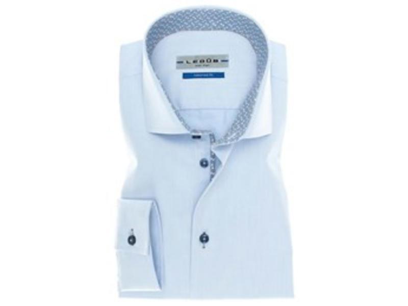 Ledub Shirt lichtblauw 0136797-120-180-670
