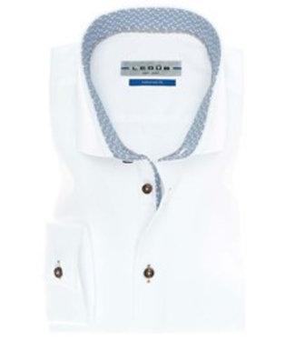 Ledub Shirt wit 0136797-910-180-670