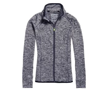 Superdry SD sport track top antraciet G20014PQ