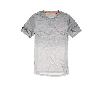 Superdry Active Ombre Grit Tee grijs M10000PQ