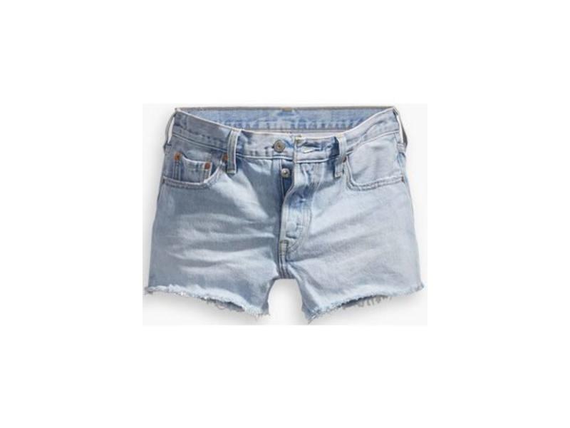 Levi's 501 short blauw 32317-0068