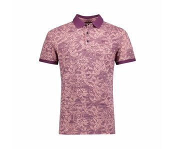 Vanguard Short sleeve polo Pique stretch Coral Almond VPSS183672
