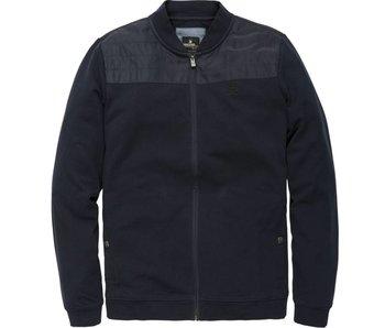 Vanguard Bomber jacket Twill Sweat Blouson Dark Sapphire VSW182203