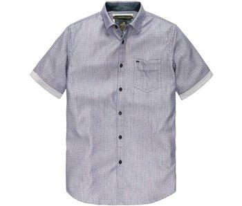 Vanguard Short Sleeve Shirt Silver Valley Deep Sea VSIS182412