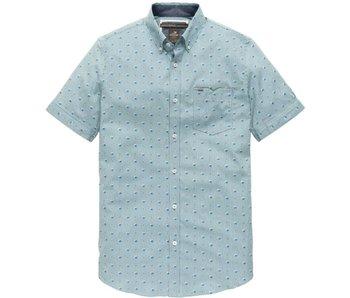 Vanguard Short Sleeve Shirt CF Sripe Lone Tr: clear sky VSIS182407