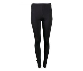 Zusss Gladde legging zwart zwart 03GL17N