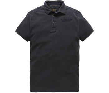 PME Legend Short sleeve polo Rugged Pique Dark Navy PPSS183851-5110