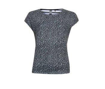 Poools T-shirt leopard grijs 823134