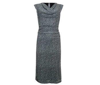 Poools Dress leopard grijs 823131