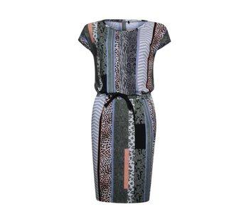 Poools Dress printed multicolour 823110