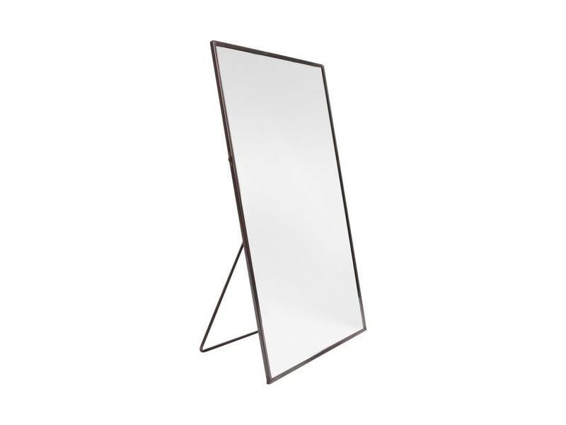 Zusss Spiegel rechthoek zwart