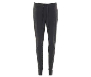 Penn & Ink Trousers stripe grijs s18n239