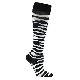 Supcare Steunkousen met zebraprint