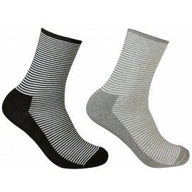 The Doctor Recommends Gestreepte diabetes sokken