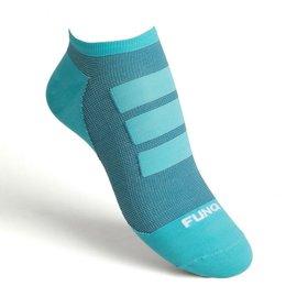 Funq Wear Funq Wear No Show enkelsokken, Triathlon Turquoise