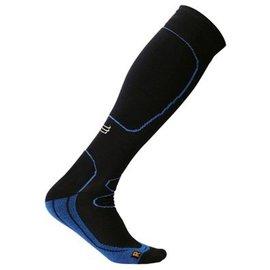 Supcare Sportcompressiekousen, zwart/blauw