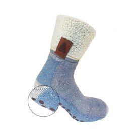 Supcare Buddha Socks, antislip sokken, blauw