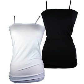 Walking® Naadloos topje met verstelbare schouderbandjes