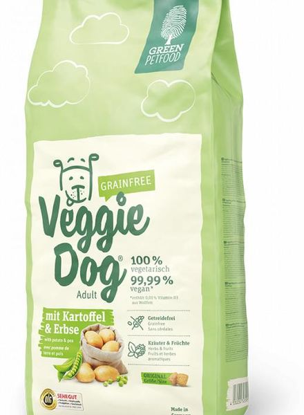 Green Petfood Veggi Dog Grainfree