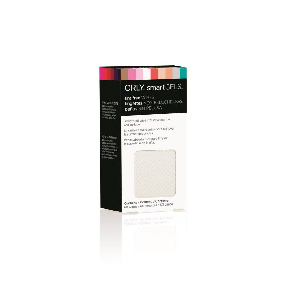 ORLY ORLY SmartGels - Lingettes Non-Pelucheux