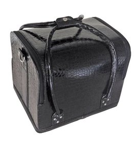 Bell'ure Beautycase Croco Black