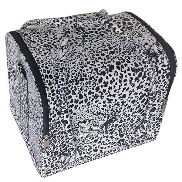 Bell'ure Beauty Case Leopard Print