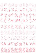 Bell'ure Filigree Pink R002
