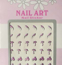Bell'ure Nail Art Sticker 3D 101