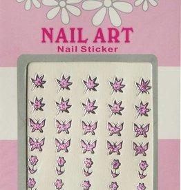 Bell'ure Nail Art Sticker 3D 102