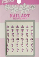Bell'ure Nail Art Sticker 3D 103