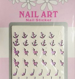 Bell'ure Nail Art Sticker 3D 104