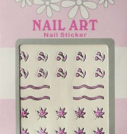 Bell'ure Nail Art Sticker 3D 107