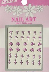 Bell'ure Nail Art Sticker 3D 108