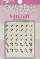 Bell'ure Nail Art Sticker 3D 109