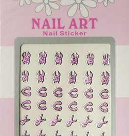 Bell'ure Nail Art Sticker 3D 110