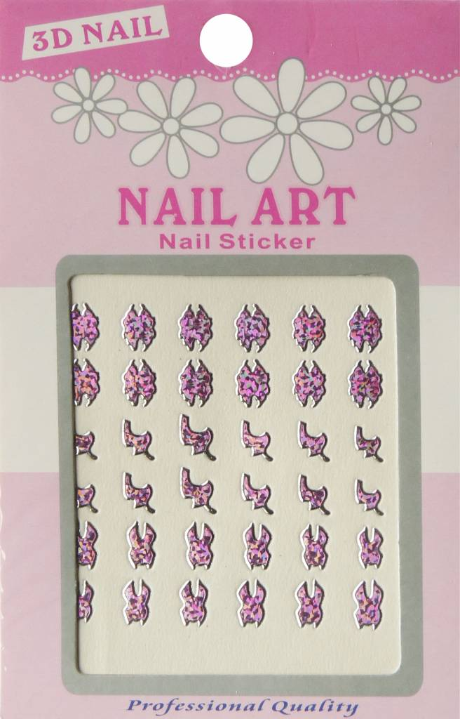 Bell'ure Nail Art Sticker 3D 111