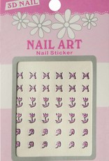 Bell'ure Nail Art Sticker 3D 112
