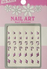 Bell'ure Nail Art Sticker 3D 113