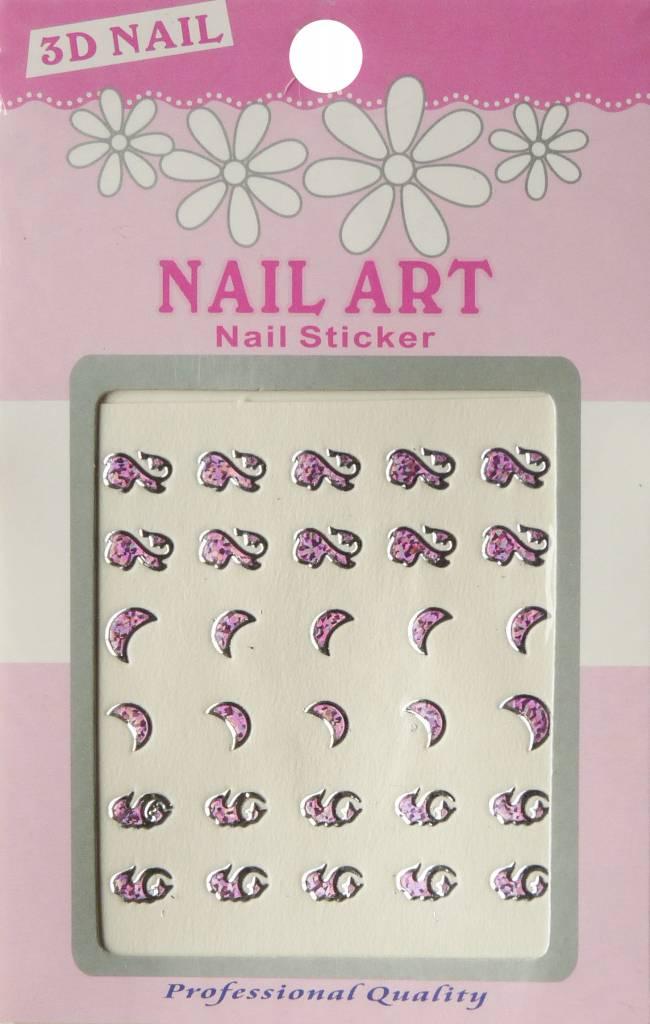 Bell'ure Nail Art Sticker 3D 114