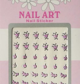 Bell'ure Nail Art Sticker 3D 115