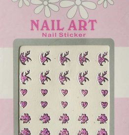 Bell'ure Nail Art Sticker 3D 118
