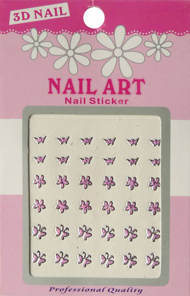 Bell'ure Nail Art Sticker 3D 120