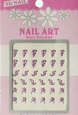 Bell'ure Nail Art Sticker 3D 123